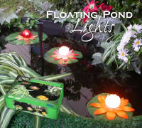 Floating Lily Lights